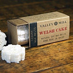 welsh cake soy wax melts for candle burner
