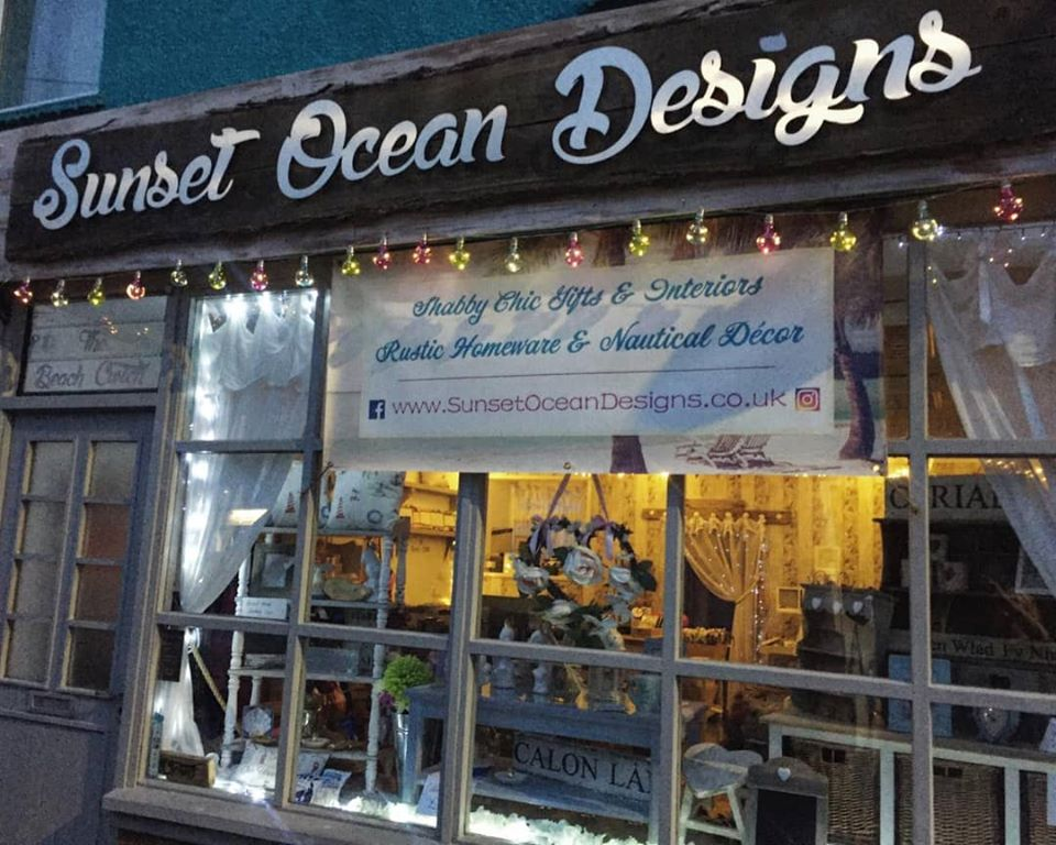 Sunset Ocean Designs Shop Front