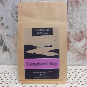 gower coffee, langland bay, full roast espresso ground coffee