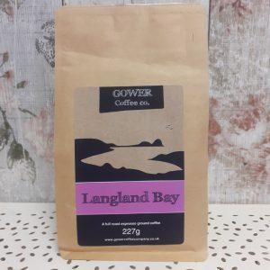 gower coffee, langland bay, full roast espresso ground coffee