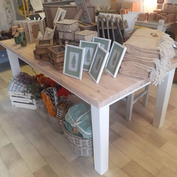 6ft upcycled dining table