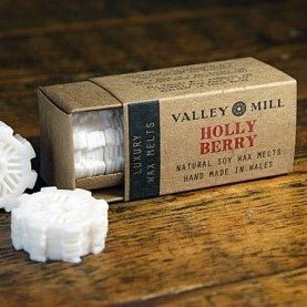 holly berry soy wax melts for candle burner