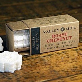 roast chestnut soy wax melts for candle burner