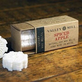 spiced apple soy wax melts for candle burner