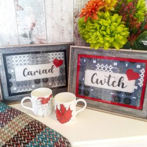 personalised word frames