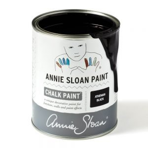 athenian black annie sloan chalk paint