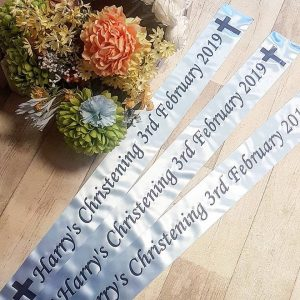 personalised metre ribbon banner