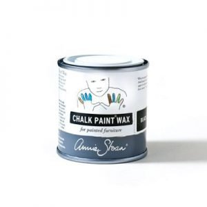 black chalk paint wax annie sloan