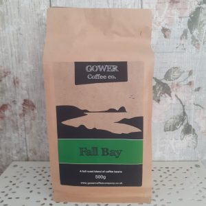 fall bay gower coffee beans