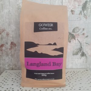 langland bay gower coffee beans