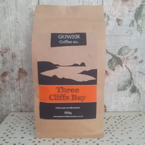 three cliffs bay gower coffee beans