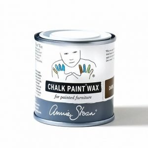 dark chalk paint wax annie sloan