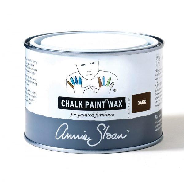 dark chalk paint wax annie sloan