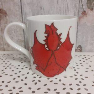 welsh connection dewi dragon mug