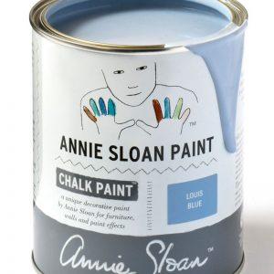 louis blue annie sloan chalk paint