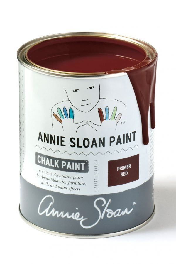 primer red annie sloan chalk paint