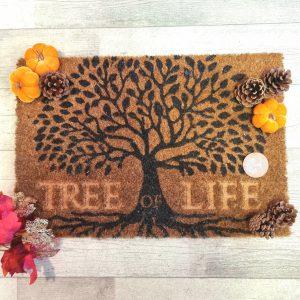 tree of life coir doormat