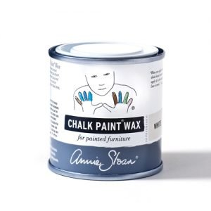 white chalk paint wax annie sloan