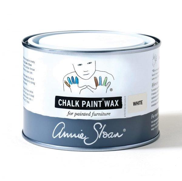 white chalk paint wax annie sloan