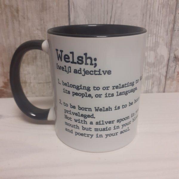 welsh definition mug