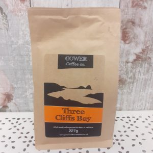 ground gower coffee - three cliffs bay