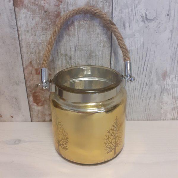 gold tree lantern