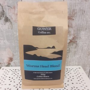 gower coffee beans - worms head blend