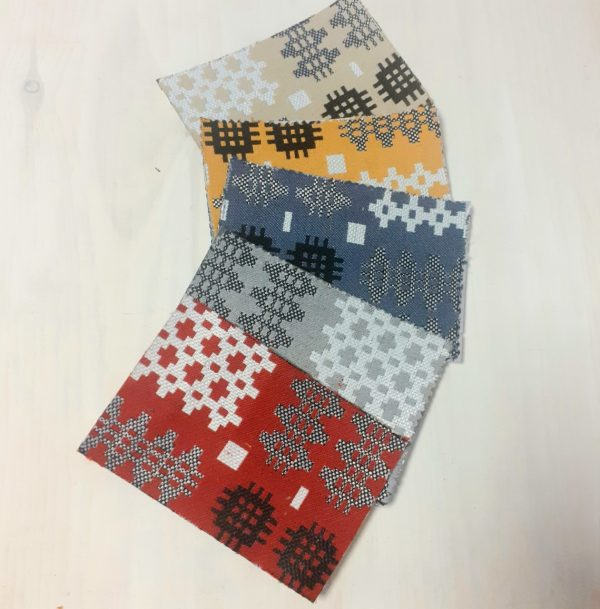 welsh tapestry fabric colours