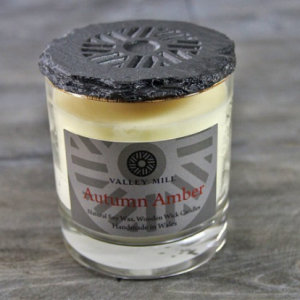 autumn amber soy candle