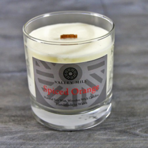 spiced orange soy candle