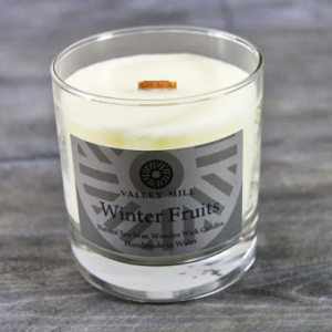 winter fruits soy candle
