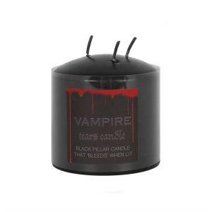vampire tears bleeding pillar candle